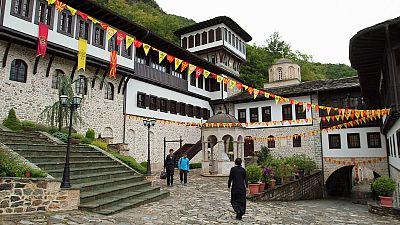Macedonian Postcards: The Saint Jovan Bigorski Monastery