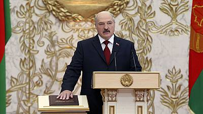Lukashenko sworn in for fifth term as Belarus president