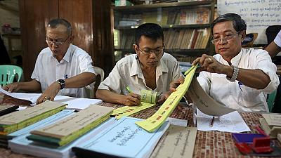 Campaigning ends ahead of historic parliamentary elections in Myanmar