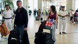 Une première vague de touristes britanniques rapatriés depuis Charm el-Cheikh