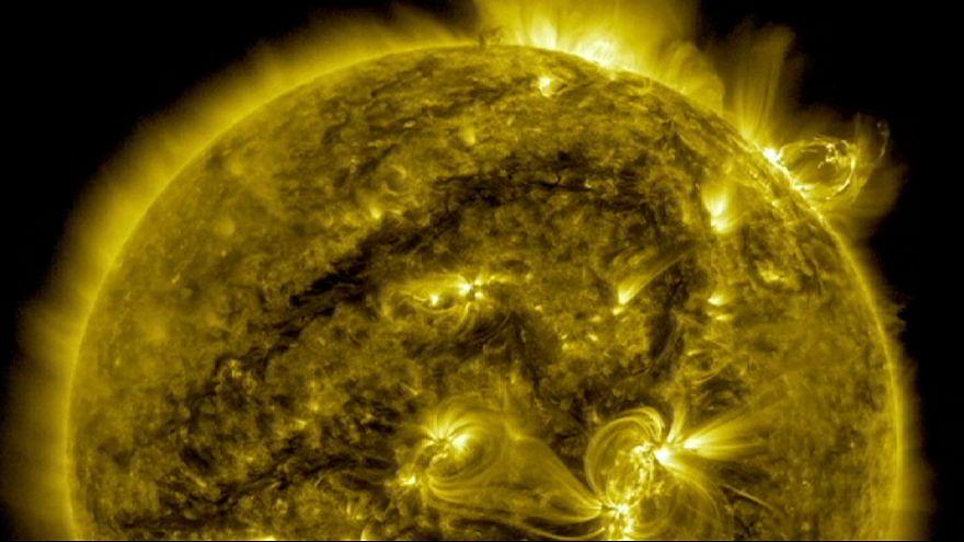 Contemplar o sol - em alta definição