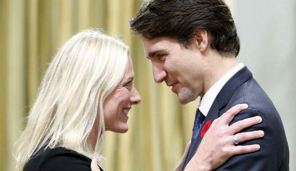 Le premier ministre canadien Justin Trudeau et Catherine McKenna, ministre de l'environnement et du changement climatique