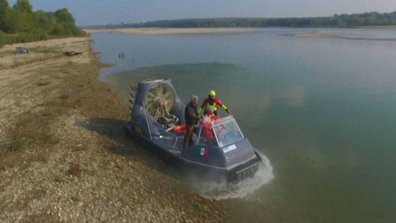 Do you know: what drives like a bike, loads like a truck and floats like a boat?