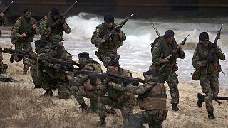 NATO Akdeniz'de gövde gösterisi yaptı