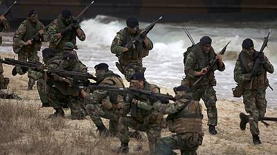 NATO showcases military might amid multiple threats on its borders