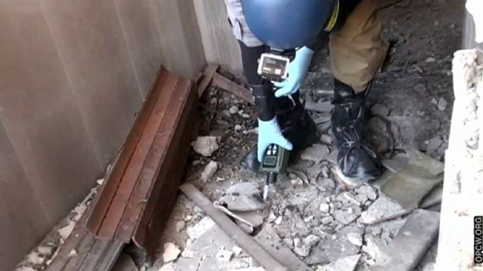 """""""Suriye'de kimyasal silah kullanıldı"""""""