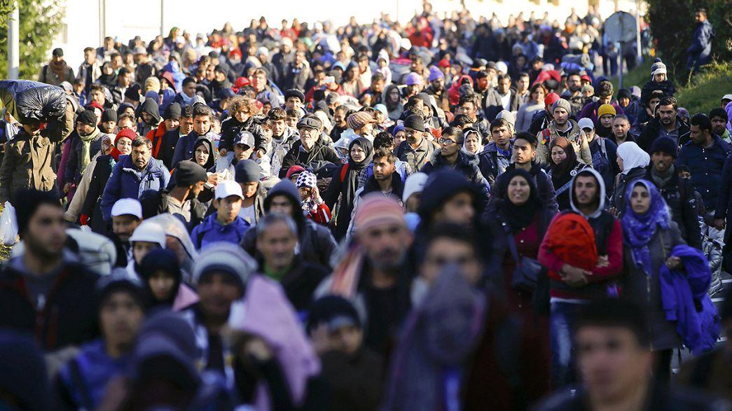 Refugiados: CE aloca 10 milhões de euros de ajuda de emergência à Eslovénia
