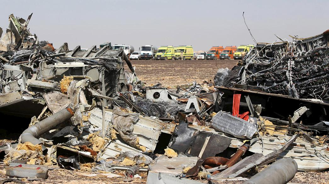 Según los medios franceses, el análisis de las cajas negras confirman la teoría del atentado en el siniestro del Sinaí
