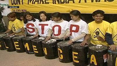 Greenpeace banned in India