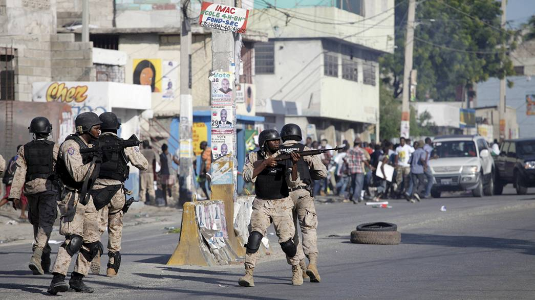 Violência pós-eleitoral no Haiti