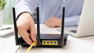 Image: Wireless router
