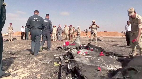 Mısır'da düşen uçağın kaza nedeni henüz belli değil
