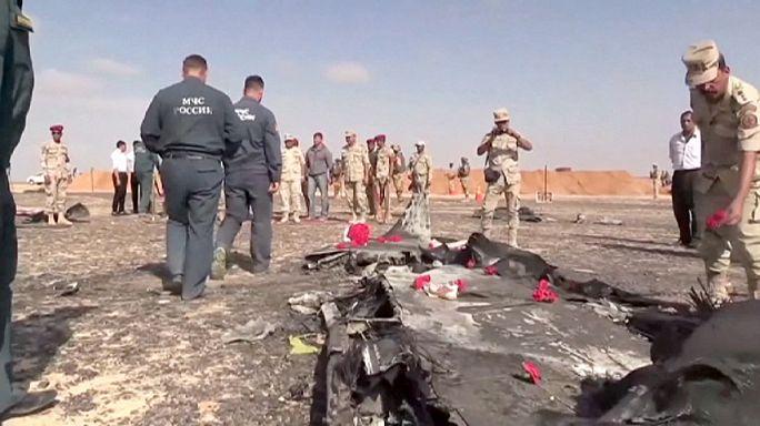 Egyiptom: Furcsa zajt rögzített a pilótafülkében az orosz gép fekete doboza