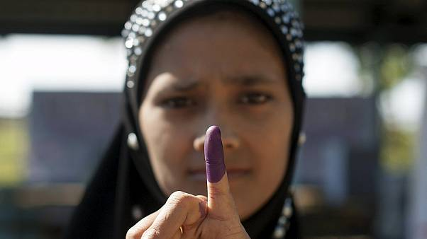 Myanmar historic vote - first open election in 25 years