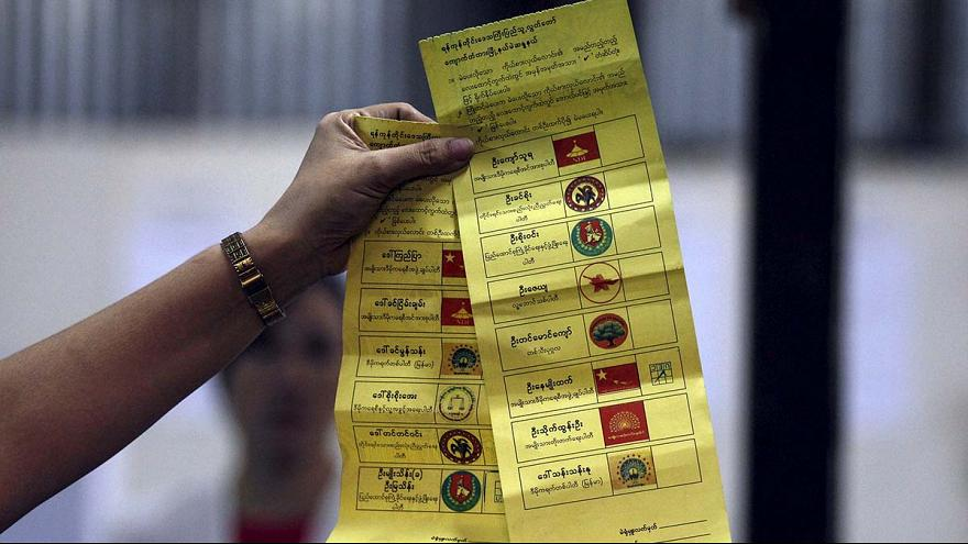 استقبال گسترده مردم میانمار از انتخابات پارلمانی