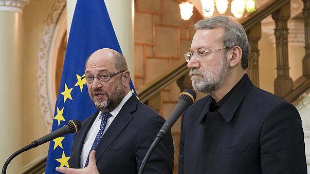 Première visite d'un président du parlement européen en Iran
