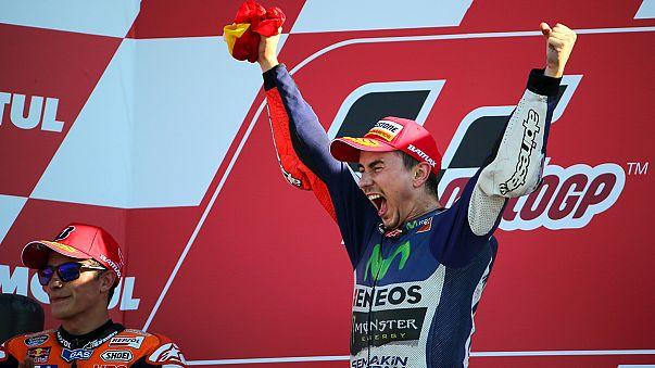 Jorge Lorenzo sacré champion du monde MotoGP à Valence