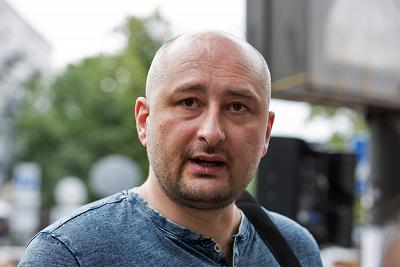 Russian journalist Babchenko defends staged death