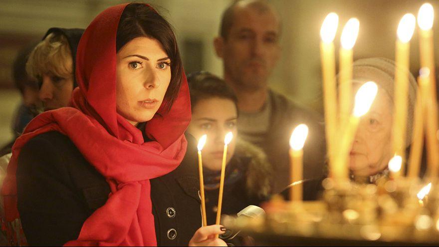 النواقيس تُقرع في كاتدرائية سان بطرسبرغ ترحما على ضحايا الطائرة المتحطمة في مصر
