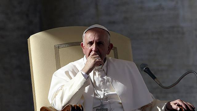 Pope condemns recent Vatican leaks as 'a betrayal of trust'