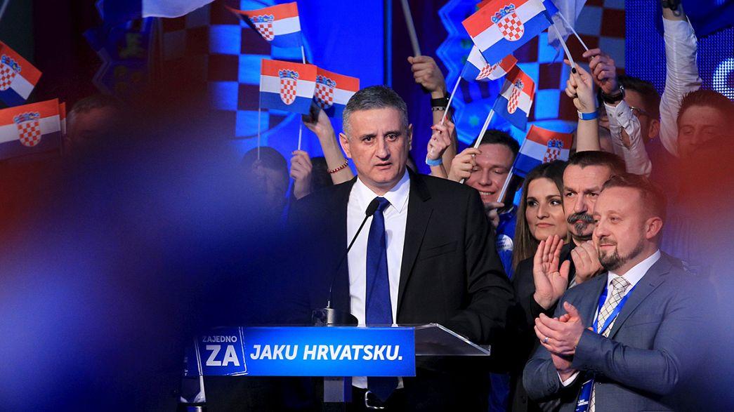 La derecha gana las legislativas croatas, pero necesitará de pactos para gobernar