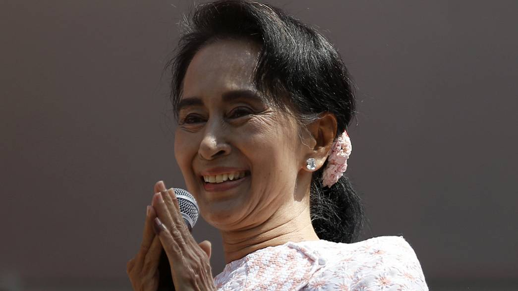 Triumph für Aung San Suu Kyi in Myanmar