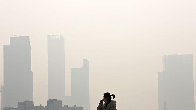 Rekordszintet ért el a légszennyezettség mértéke a légkörben 2014-ben
