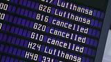 Strike grounds 100,000 passengers as Lufthansa cancels 900 flights