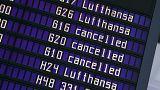 Grève chez Lufthansa : près d'un millier de vols annulés