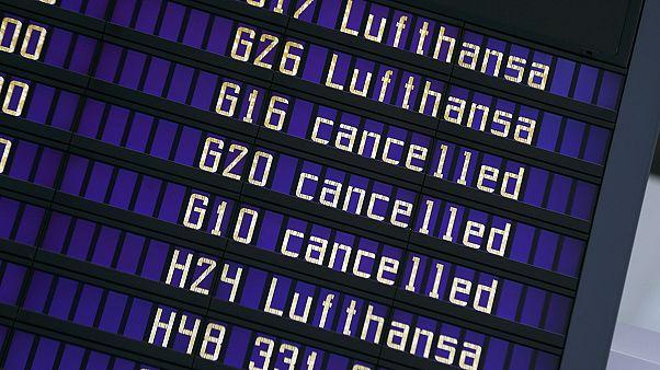 La huelga de Lufthansa deja a más de 110.000 personas en tierra