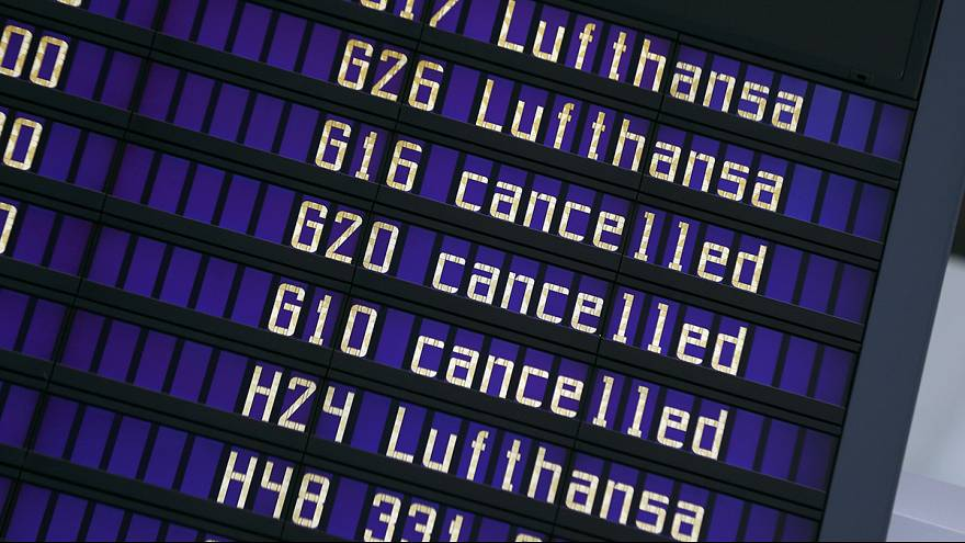 لوفتهانزا: اضراب عاملي الخدمات الجوية يؤثر على 113 ألف مسافر