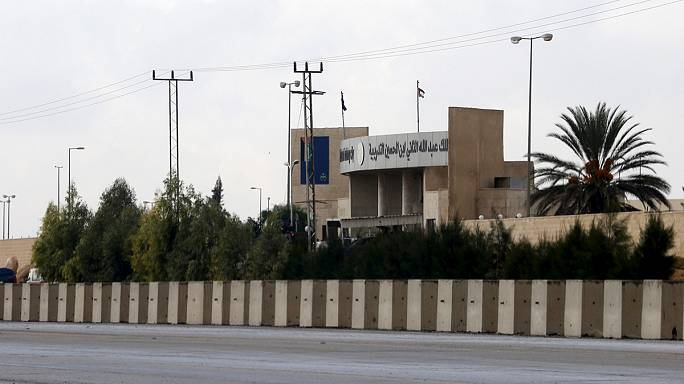 Gunman kills five including US staff at police training centre in Jordan