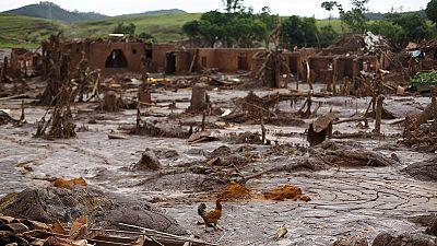Two Brazilian dams burst devastating nearby village