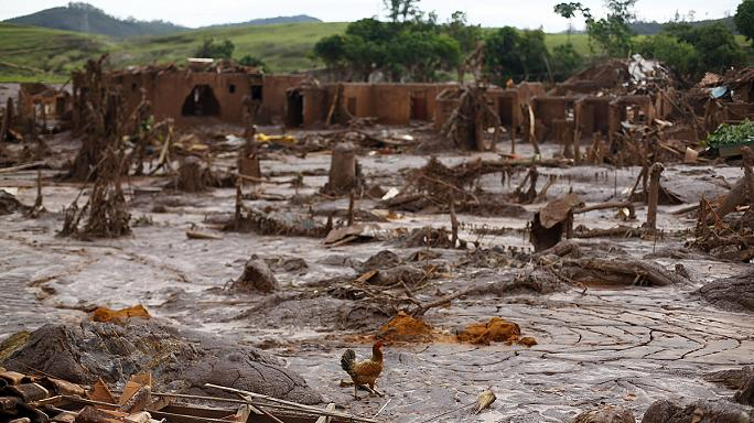 Two Brazilian dams burst devastating nearby village