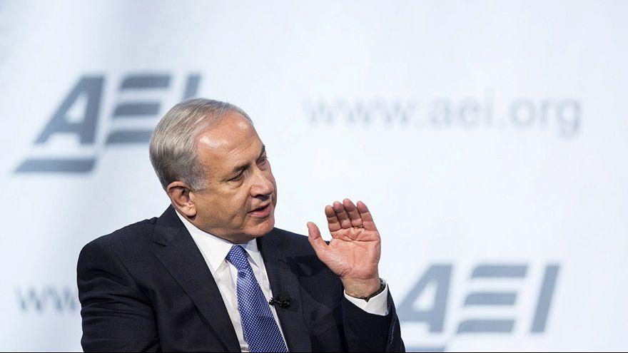 نتنياهو يبحث في واشنطن عن دعم لإسرائيل وابقاء الضغط على ايران