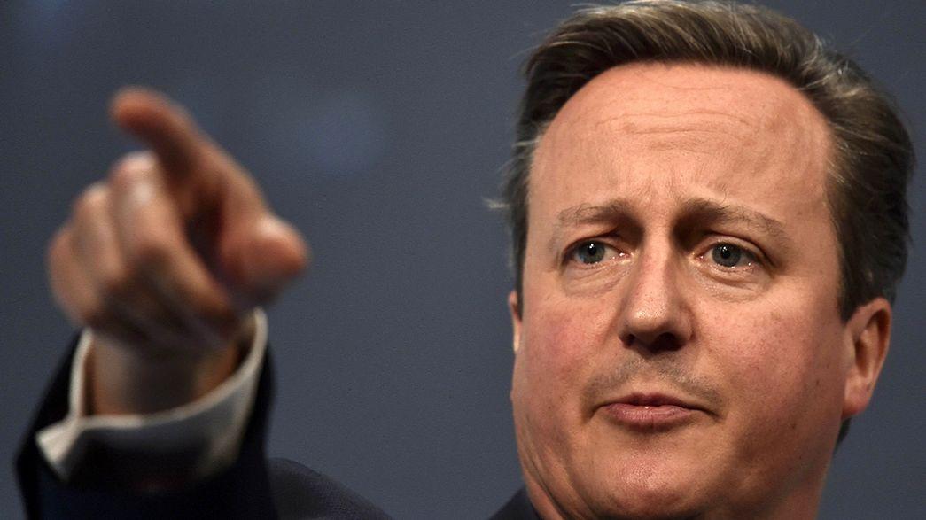 El Reino Unido no excluye reconsiderar su pertenencia a la Unión Europea si no obtiene las reformas exigidas