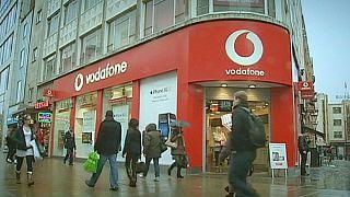 رشد فروش شرکت بریتانیایی «ودافون»
