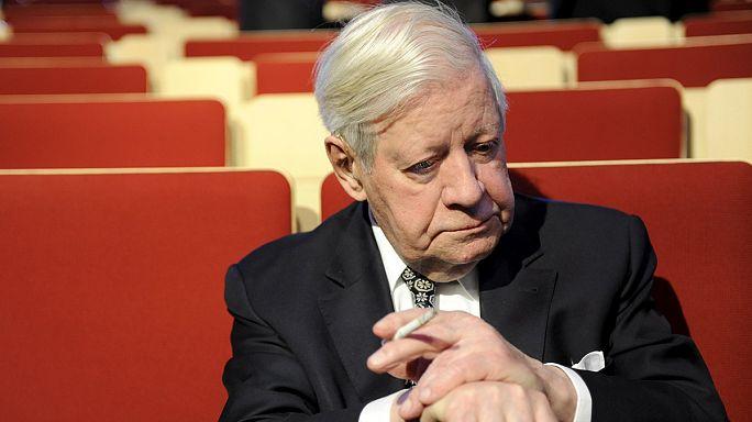 L'ex-chancelier allemand Helmut Schmidt est mort à 96 ans