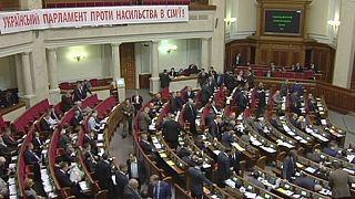 Ukraine : le parlement vote de nouvelles lois anti-corruption