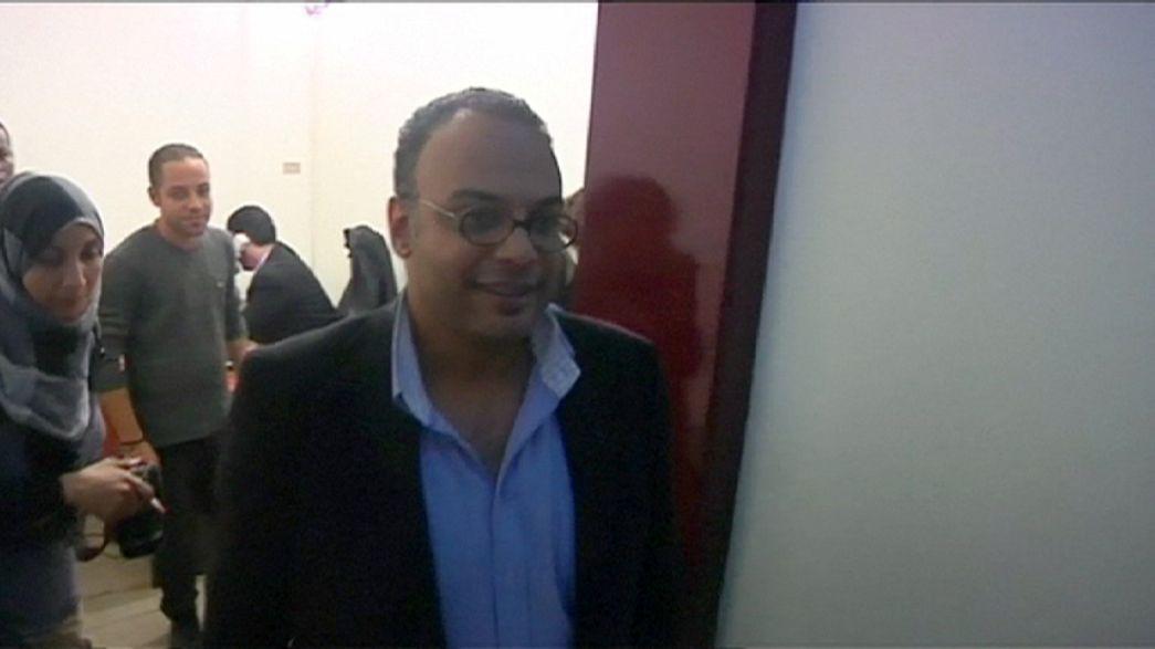 """Egito liberta jornalista """"incómodo"""""""