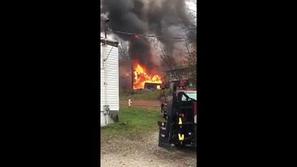 Private jet crashes in Ohio - several feared dead