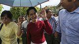 أونغ سان سوتشي تدعو الرئيس والسلطات العسكرية في بورما للحوار