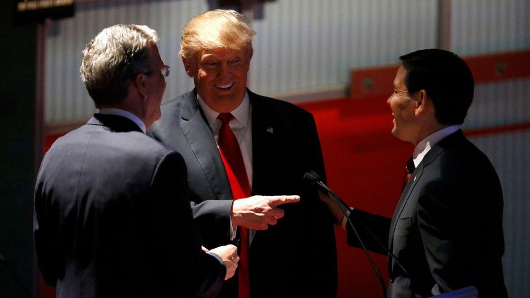 EUA: Polémica da imigração domina debate entre republicanos