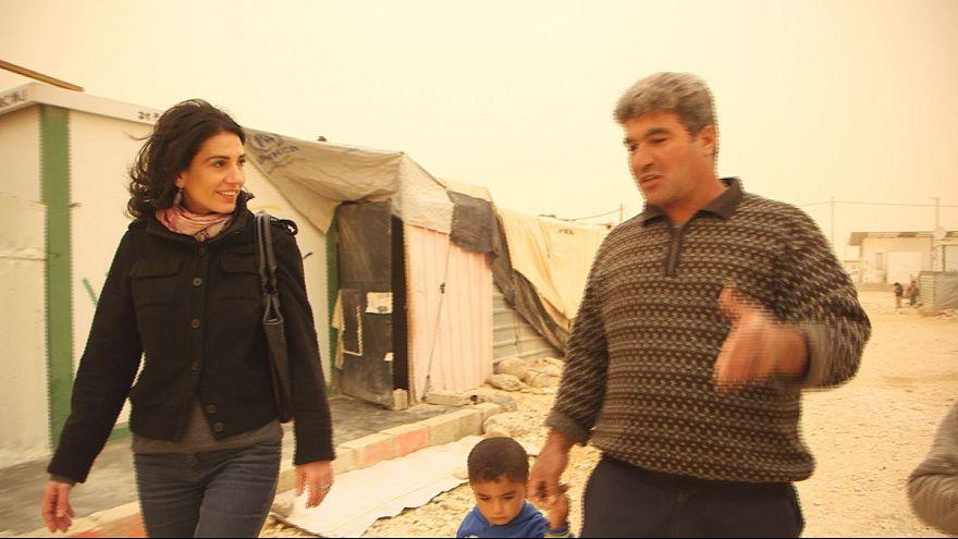 Viver como refugiado na Jordânia ou voltar para a Síria?