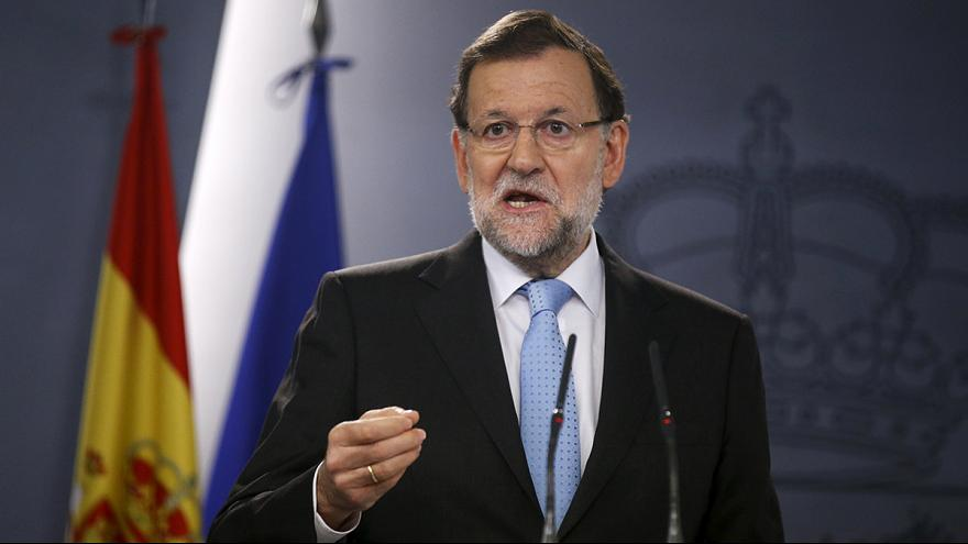 Mariano Rajoy pide que se suspenda la resolución independentista del Parlamento catalán