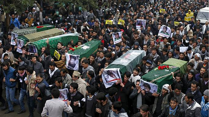 Afghan Hazara mourn, demand government guarantee security