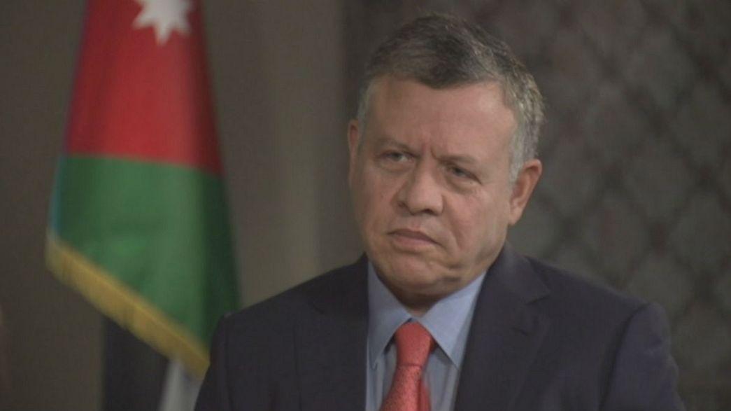Jordánia küzdelme a szíriai háború árnyékában