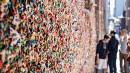 Seattle's beloved, but grungey, gum wall gets wash after two decades