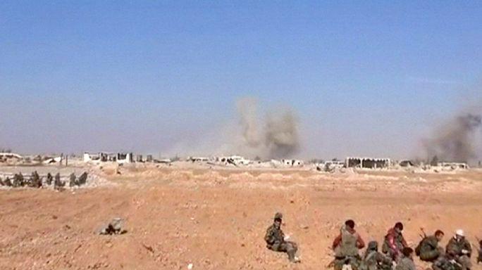 Combats intensifiés en Syrie, l'armée du régime reprend une base stratégique