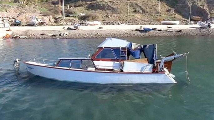 Megfulladt 14 menekült az Égei-tengeren